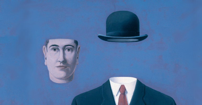 magritte volto