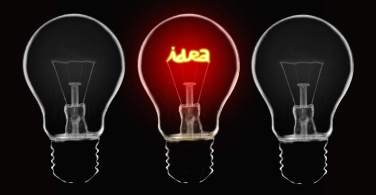 idea lampadina start up