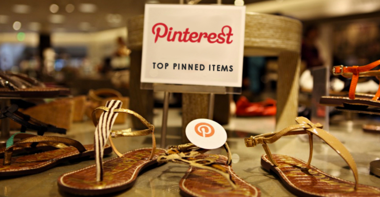 pinterest shopping