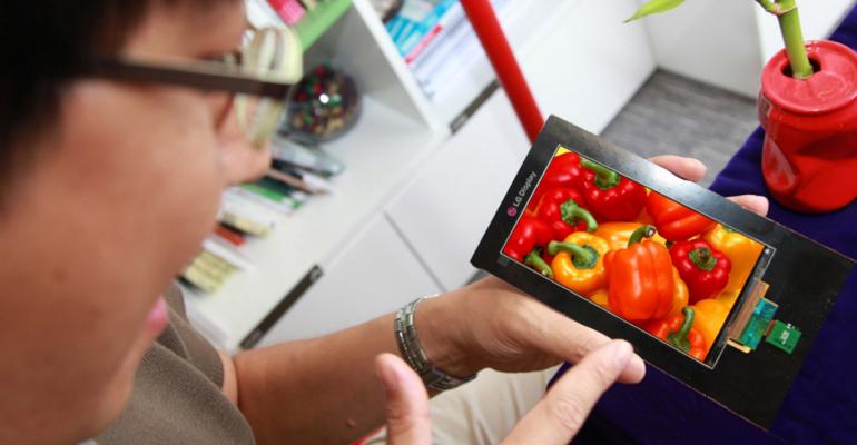 LG HD Quad smartphone