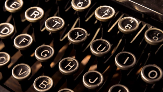 macchina da scrivere storytelling
