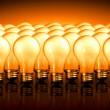 elettricità lampadine luce