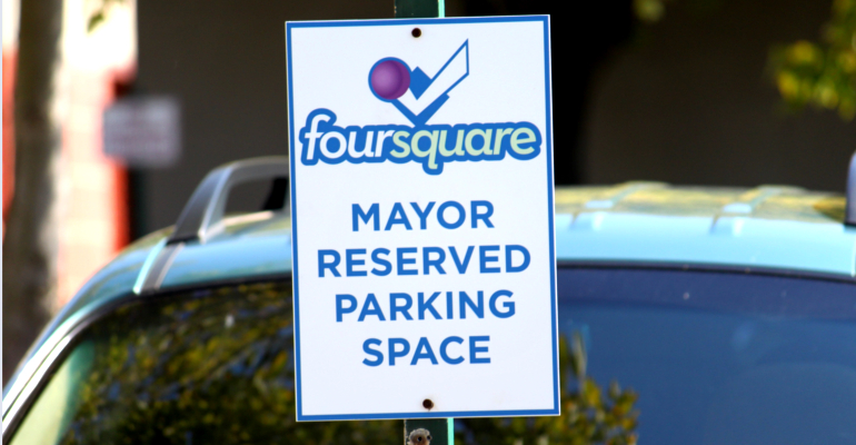 foursquare parking