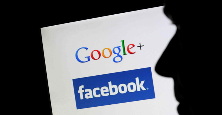 google plus facebook