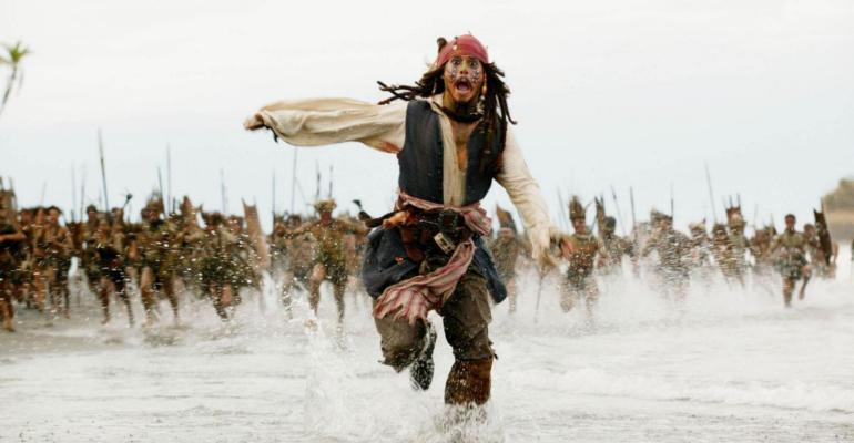 pirati jack sparrow