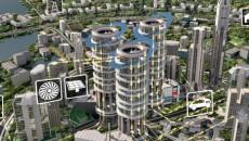 smart city rendering