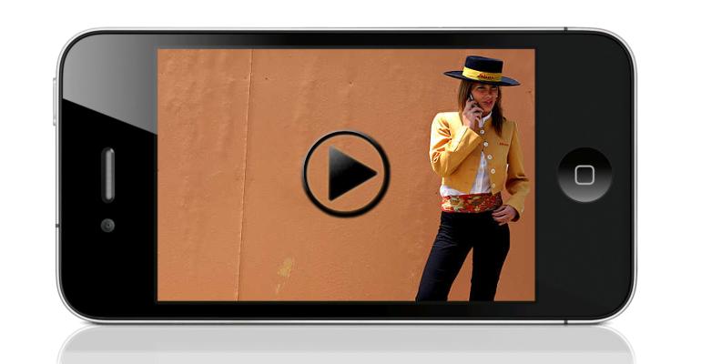 spagna smartphone video