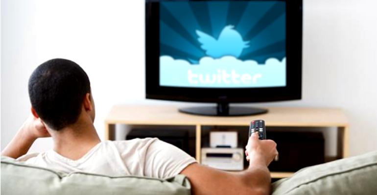 Twitter tv pubblicità
