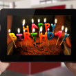 happy birthday web tablet