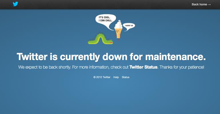 Il disservizio di Twitter DDoS o server down?