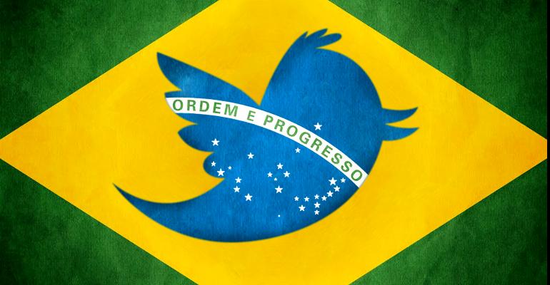 Twitter Brasile #CoppadelMondo