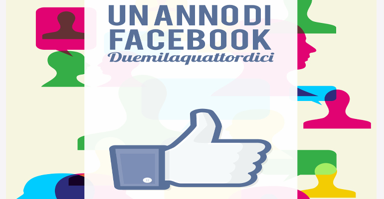 Un anno di Facebook. Duemilaquattordici - eBook